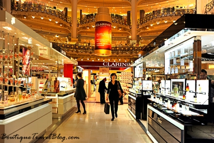 Galeries Lafayette beauty department